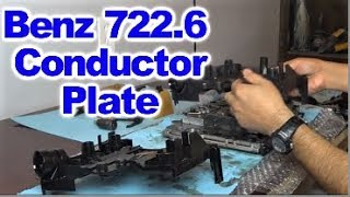 Replacing Conductor Plate on  Mercedes Benz 5 Speed 722.6  Automatic Transmission