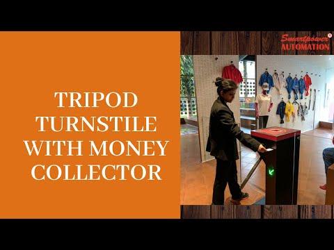 SS Tripod Turnstile Gate