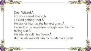 Bran Van 3000 - Willard Lyrics