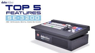 【Official】Top 5 Features of SE-3200 HD 12-Channel Digital Video Switcher