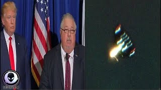 "TRUMP'S Chief Scientist: ""5000mph UFO Charged Me!"" 8/29/17 | Kholo.pk"