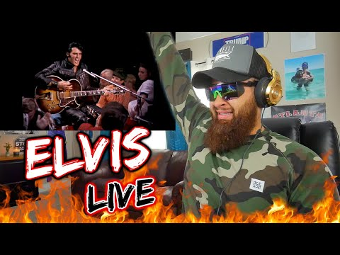 First REACTION to ELVIS PRESLEY - Trying To Get To You (Live 68' Comeback) REVIEW!!
