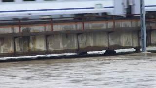 preview picture of video 'Powódź w Czechowicach-Dziedzicach most na Iłownicy III'