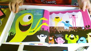 At Home Art Lesson-Felt Monster Collage For Kids