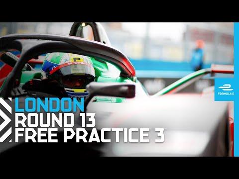 フォーミュラE ロンドンE-PRIX フリープラクティス3のフル配信動画
