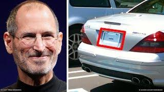 Por qué el auto de Steve Jobs no tenía matrícula