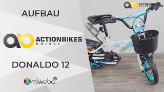 Kinderfahrrad Aufbau Schritt für Schritt - Tipps zur Montage | Anleitung Donaldo 12 Zoll Fahrrad
