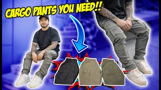 CARGO PANTS & OTHER ESSENTIALS YOU NEED IN YOUR WARDROBE VLOG!