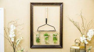 DIY Hanging Herb Garden - Home & Family