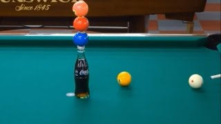 INCREIBLES TRUCOS DE BILLAR - Pool Trick Shot