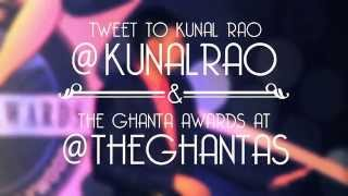 The Ghanta Awards 2014 Kunal Rao On Worst Director