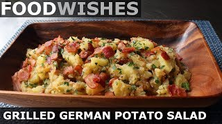 Grilled German Potato Salad - Food Wishes - Video Youtube