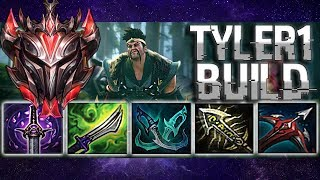 DRAVEN AH 1 l Tyler1 old build ft. New V1ncent Runes ShowTime