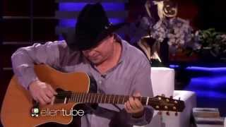 "Garth Brooks "" Mom ""performs live on The Ellen Show Man Against Machine"