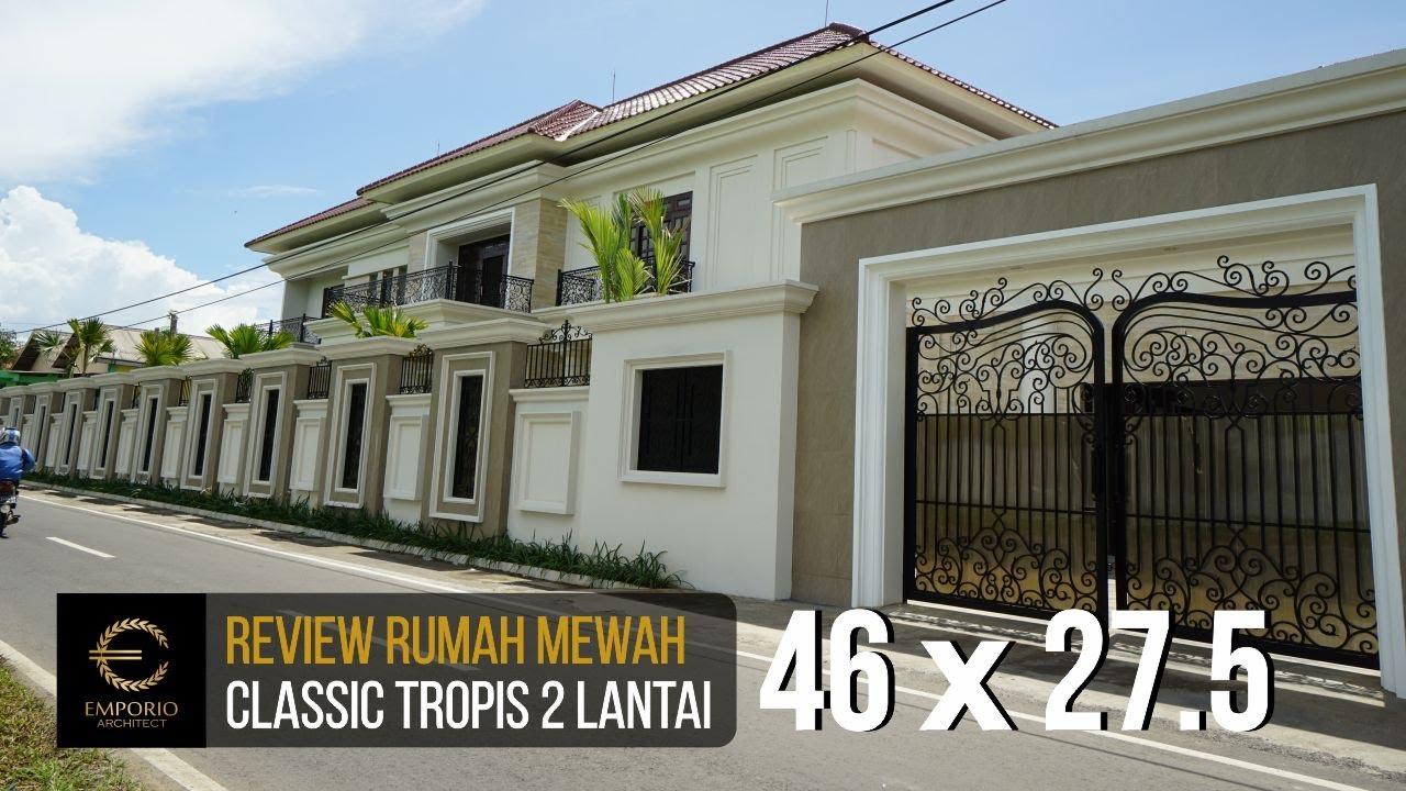 Video Hasil Konstruksi Mrs. Arum Classic House 2 Floors Design - Solo