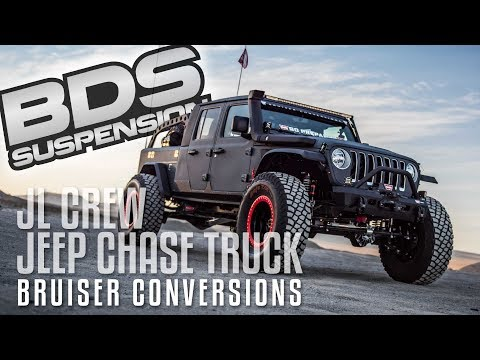 Bruiser Conversions Brings a 6x6 Jeep to the 2017 Battle of the