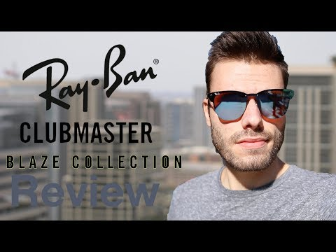 Ray Ban Clubmaster Blaze Review