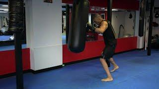 Heavy Bag Tabata High Intensity Boxing Training by NateBowerFitness