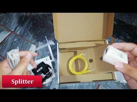 VDSL2 Ptcl New Modem Unboxing & Review