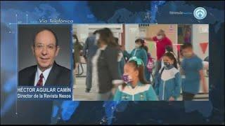 El rezago educativo, tras este año sin clases presenciales, es muy alto: Héctor Aguilar Camín