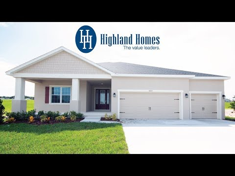 Wynter home plan by Highland Homes - Florida New Homes for Sale