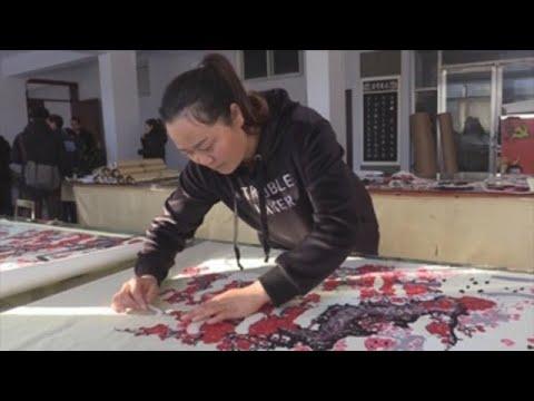 """El """"papel cortado"""", una tradición artística china que sobrevive al progreso"""