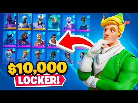 Lachlan's Locker Showcase! ($10,000+)