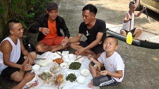 Một Buổi Câu Cá Và Bữa Cơm Thường Ngày Của Anh Em Tam Mao - Cuộc Sống Đơn Giản Mà Vui