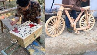 Amazing Craft 13 Creative Ideas Make Any Item Use Bamboo And Wood