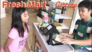 Grocery Shopping At Fresh Mart for Star Diner Pretend Play   Toys Academy