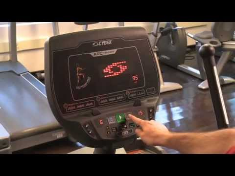 Getting Started Cybex 625AT Total Body Arc Trainer