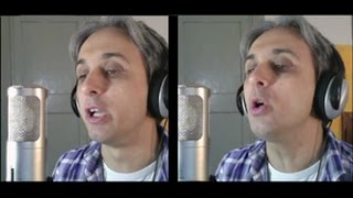 How to sing a cover of From Me To You Beatles Vocal Harmony