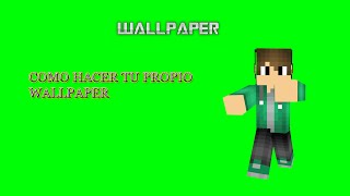 Como Hacer Un Wallpaper De Minecrafr Free Online Videos Best
