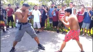 Драка школьников США  Африканец VS азиат