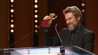 Berlinale 2018: Goldener Ehrenbär für Willem Dafoe