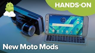 New Moto Mods for 2018: Hands-on!
