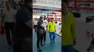 Легендарный Рой Джонс пожелал казахстанским боксерам удачи на Азиаде-2018