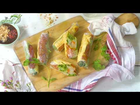 Bếp Cô Minh   Tập 95 - Hướng dẫn cách làm món BÒ BÍA cực hấp dẫn