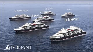 Ponant Cruises: The new generation of luxury cruise liners
