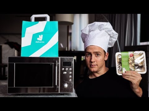 Guy fakes a restaurant by selling microwave meals through Deliveroo