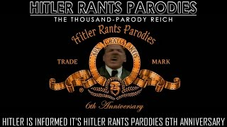 Hitler Is Informed The Hitler Rants Parodies Channel Is 6 Years Old