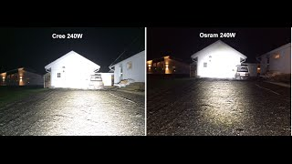 Review autofeel 900watt cree led curved light bar 90000 lumens led bar review cree 24x10w vs osram 48x5w 240w aloadofball Image collections