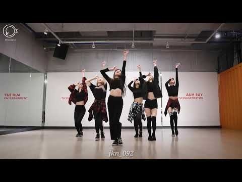 Everglow - Bon Bon Chocolate Dance Practice Mirror