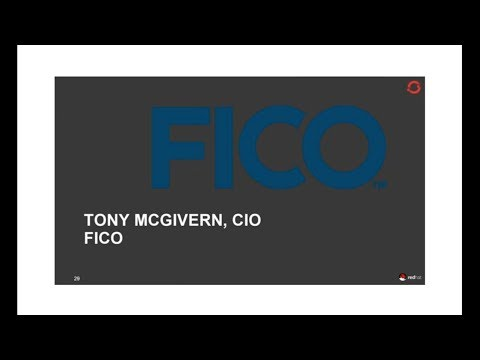 FICO Builds an Analytic Cloud on OpenShift Enterprise