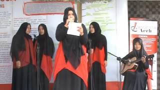 Musikalisasi Puisi Mahasiswi Poltekes Aceh di Hari Anti Korupsi