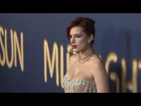 """Actress Bella Thorne says her life is an open book and she shares that in a personal collection of poetry. In """"The Life of a Wannabe Mogul: Mental Disarray Vol. 1,"""" Thorne writes about personal struggles, relationships, being sexually abused, battling depression and having dyslexia. (July 24)"""