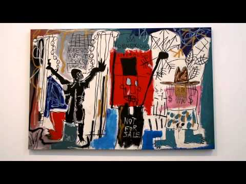 BASQUIAT AT GAGOSIAN GALLERY