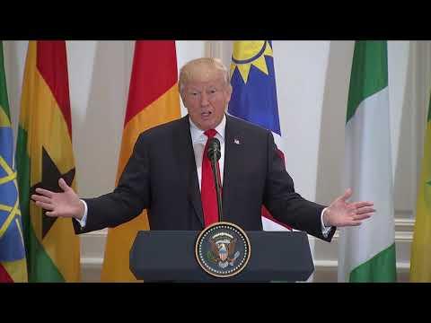 Donald Trump: 'Africa has tremendous business potential'