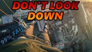 don't look away challenge (99% fail! - don't look down)