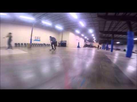 Skateboarding Ocala Florida's new indoor skatepark with Dark Sky Skateboards